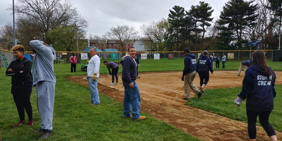 Rue Insurance Baseball Field Repiars