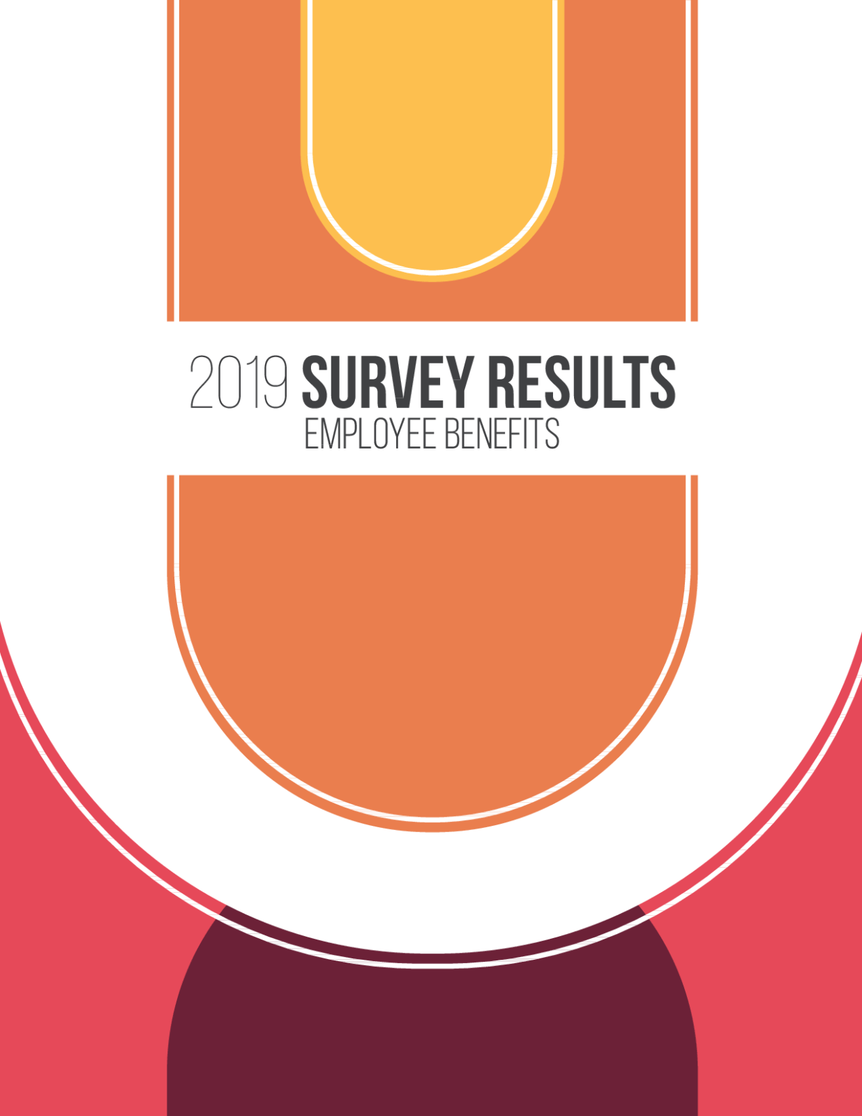 2019 Employee Benefits Survey Results cover